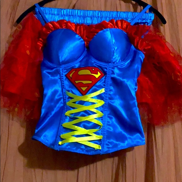 DC SuperWoman Corset Costume!